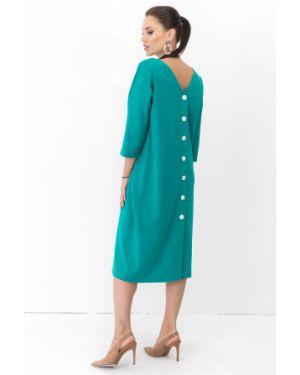 Платье оверсайз - бирюзовое Taiga