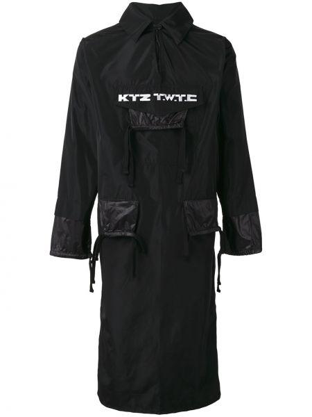 Длинная куртка - черная Ktz