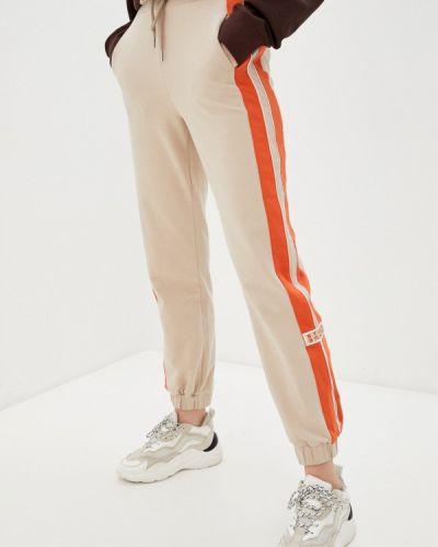 Бежевые спортивные брюки Unq