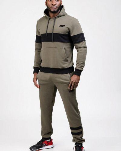 Спортивный костюм хаки Go Fitness