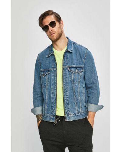 Синяя облегченная джинсовая куртка с манжетами Levi's®