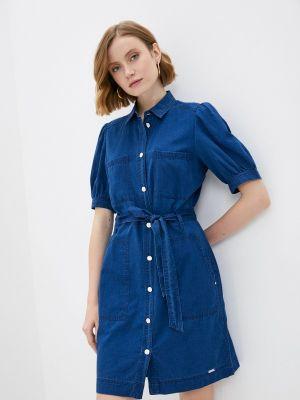 Синее платье Q/s Designed By