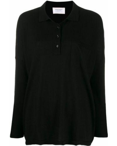 Рубашка с длинным рукавом в полоску без воротника Snobby Sheep