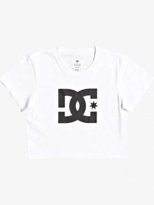 Хлопковая футболка - белая Dc Shoes