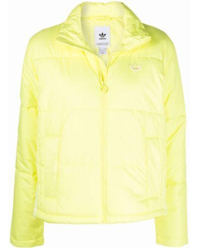 Дутая куртка - желтая Adidas
