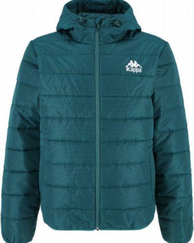 Зеленая куртка короткая Kappa