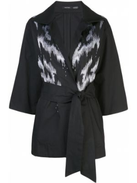 Куртка черная куртка-жакет Natori