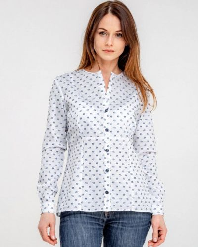 Рубашка с длинным рукавом белая Dressinjoy By Lipashova & Malko