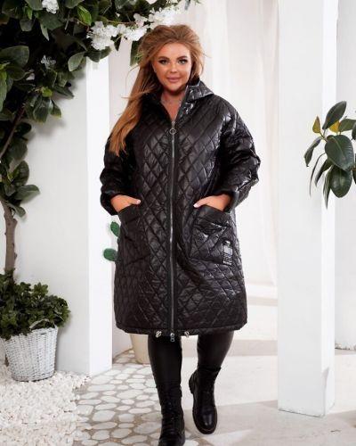 Куртка оверсайз - черная Fashion