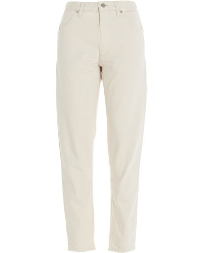 Beżowe jeansy Jil Sander