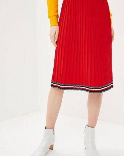 Плиссированная юбка весенняя Tommy Hilfiger
