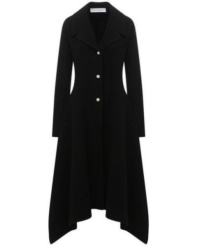 Шерстяное пальто с подкладкой Jw Anderson