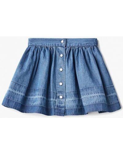 Джинсовая юбка синий Name It