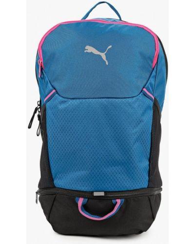 Синий текстильный рюкзак Puma