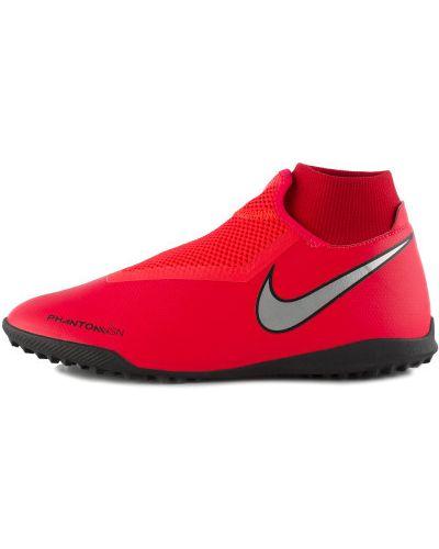 Бутсы красные Nike