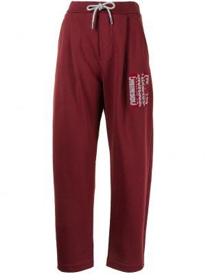 Спортивные брюки с завышенной талией - красные Opening Ceremony