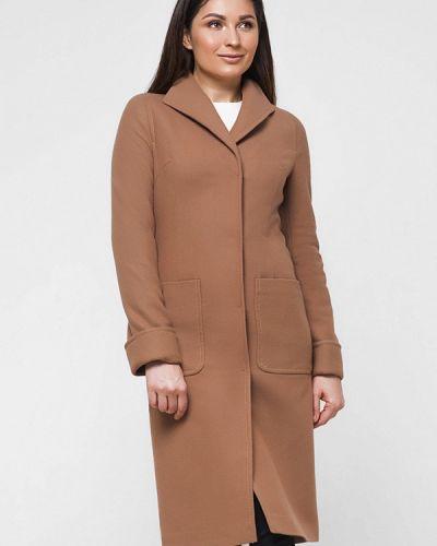 Коричневое пальто весеннее Florens