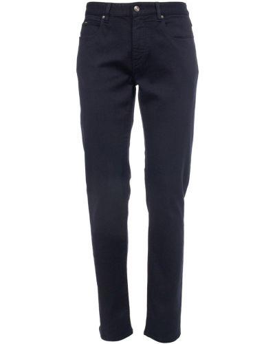 Niebieskie mom jeans Ermenegildo Zegna