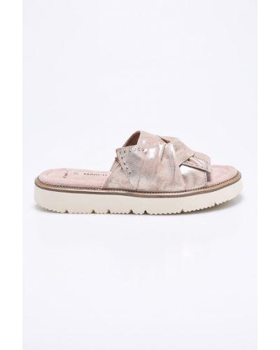 Розовые сандалии Marco Tozzi