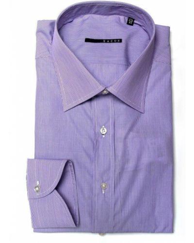 Фиолетовая рубашка Xacus