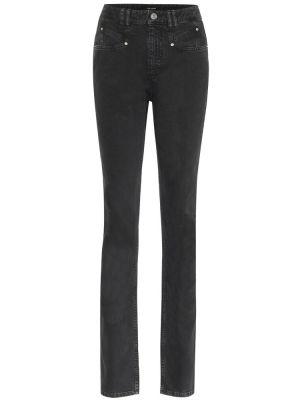Czarny jeansy na wysokości Isabel Marant