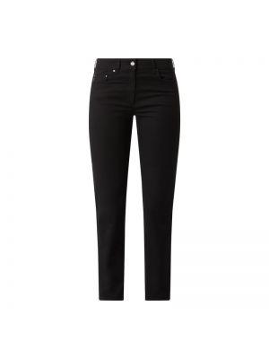 Czarne spodnie bawełniane Zerres