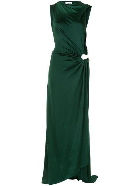 Вечернее платье макси с рукавами Monse