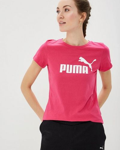 Поло розовый Puma