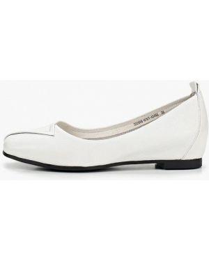 Кожаные туфли белый Berkonty