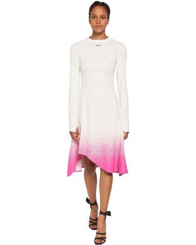 Sukienka midi - biała Off-white