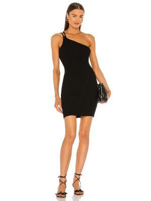 Хлопковое платье - черное 525