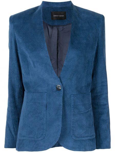 Джинсовая куртка на пуговицах с карманами Nobody Denim