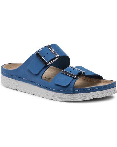 Niebieskie sandały casual Berkemann