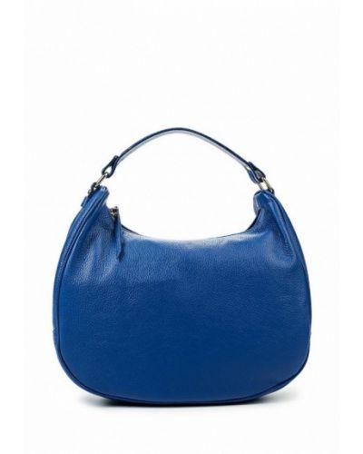 Синяя сумка-хобо Lamania