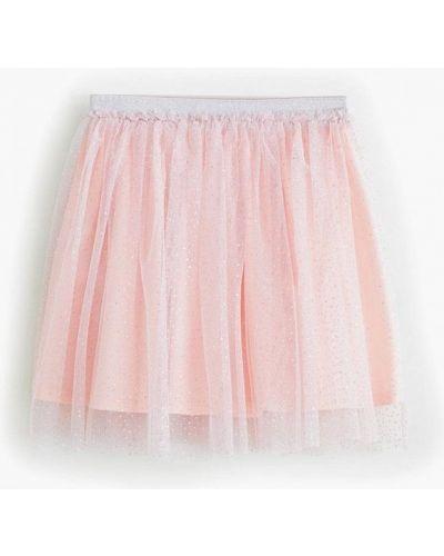 Юбка розовый Mango Kids