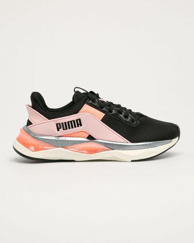 Czarne sneakersy sznurowane Puma