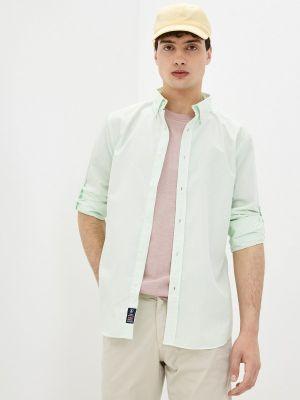 Зеленая рубашка с длинными рукавами Jimmy Sanders