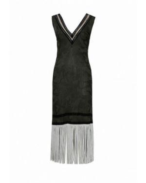 Повседневное платье весеннее итальянский Tricot Chic