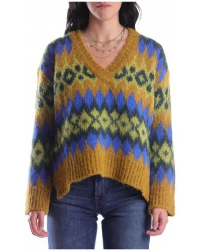 Brązowy sweter Momoni