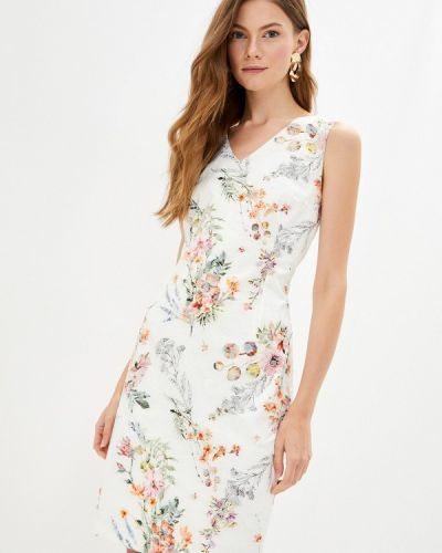 Белое прямое платье Top Secret