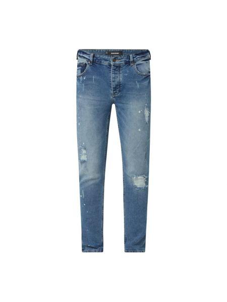Niebieskie jeansy bawełniane Raizzed