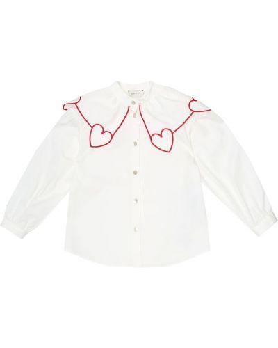 Bawełna bawełna biały bluzka rozciągać Gucci Kids