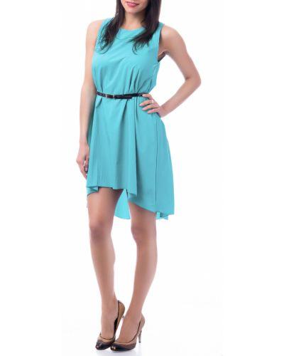 Повседневное платье с поясом однотонное Lacywear