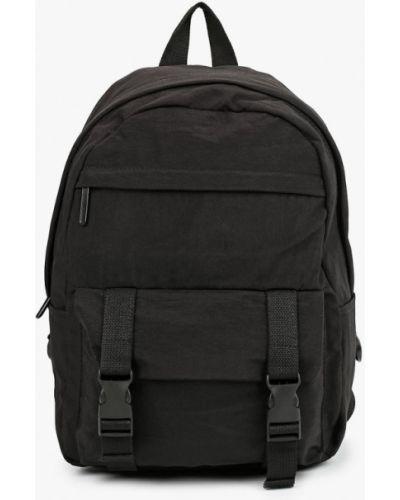 Городской черный текстильный рюкзак Keddo