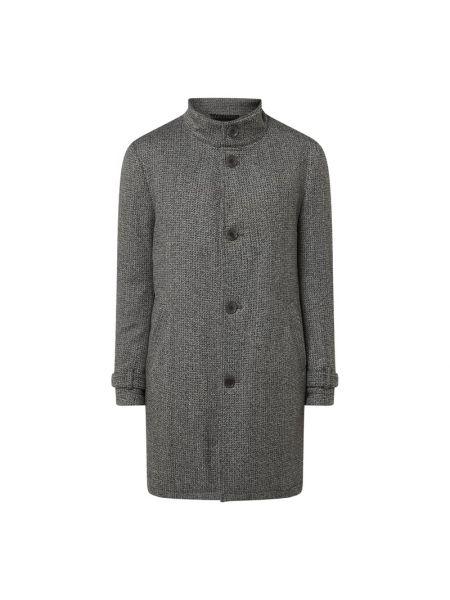 Płaszcz pikowany wełniany Drykorn