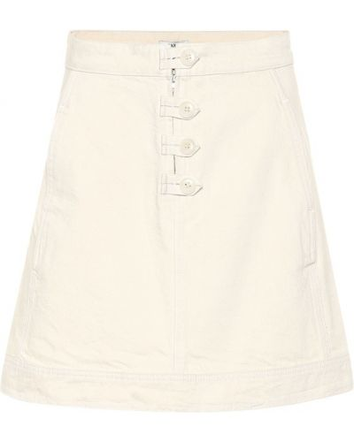 Джинсовая юбка юбка-колокол пачка Ganni