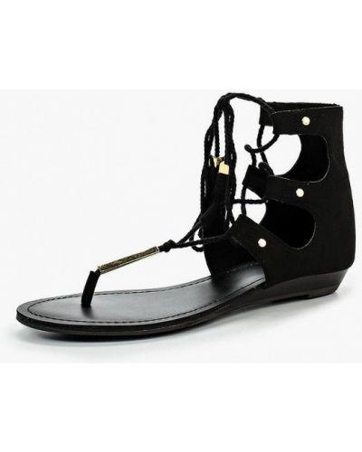 Черные сандалии резиновые Aldo
