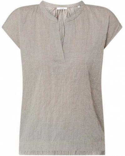 Bluzka bawełniana - beżowa Opus