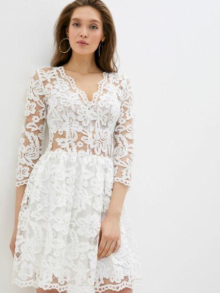 Белое свадебное платье Gorchica
