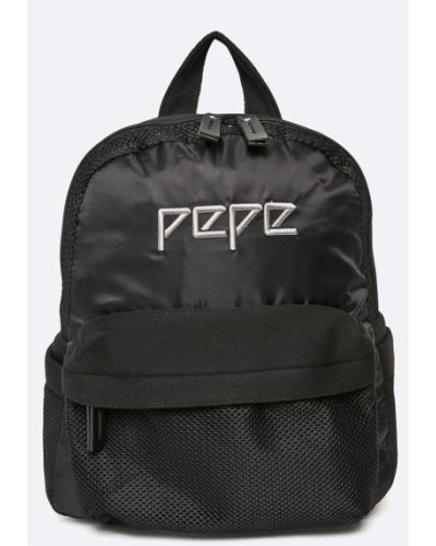 Черный рюкзак Pepe Jeans